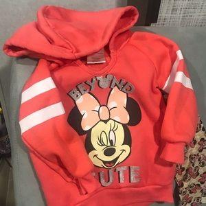 Disney Matching Sets - Minnie Mouse hoodie & leggings set